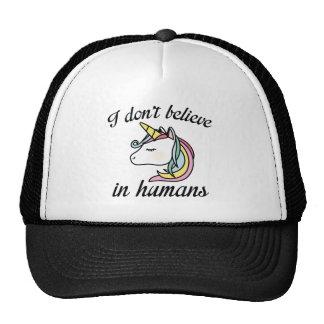 Je ne crois pas chez l'homme casquettes