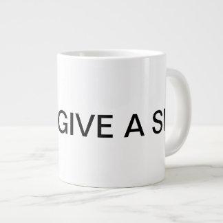 Je ne donne pas une tasse d'éléphant de Sip