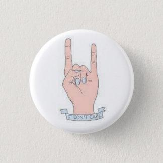 Je ne m'inquiète pas le bouton badge