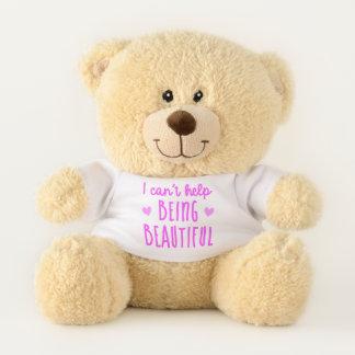 Je ne peux m'empêcher d'être bel ours de nounours