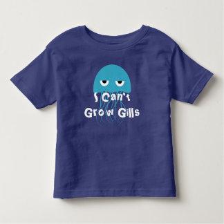 Je ne peux pas élever des ouïes t-shirt pour les tous petits
