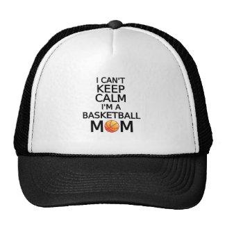 Je ne peux pas garder le calme, je suis une maman casquette