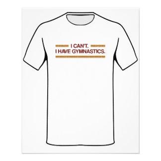 Je ne peux pas j'avoir la gymnastique prospectus 11,4 cm x 14,2 cm