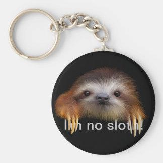 Je ne suis aucun porte - clé de paresse porte-clés