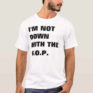 Je ne suis pas avale avec Le GOP T-shirt
