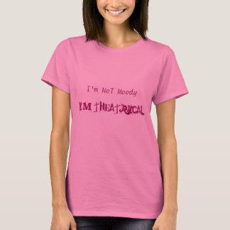 Je ne suis pas déprimé je suis long T-shirt