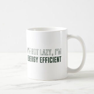 Je ne suis pas paresseux je suis de rendement mug