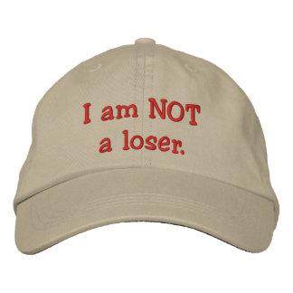 Je ne suis pas perdant casquette brodée
