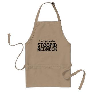 Je ne suis pas simplement plouc d'Anuther Stoopid Tablier