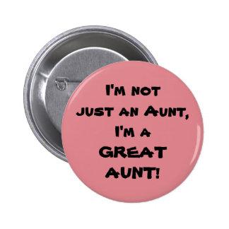 Je ne suis pas simplement une tante, je suis une badge