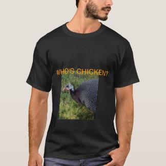 Je ne suis pas T-shirt de pintade de poulet