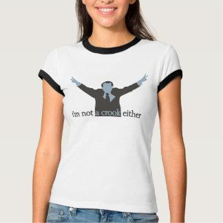 je ne suis pas un bleu d'escroc non plus - t-shirt