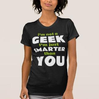 Je ne suis pas un geek que je suis simplement plus t-shirts