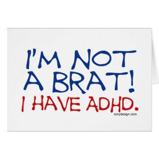 Je ne suis pas un gosse ! J'ai le TDAH Carte De Vœux