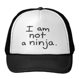 Je ne suis pas un ninja