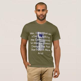 Je ne suis pas une atmosphère t-shirt