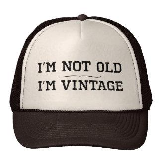 Je ne suis pas vieux, je suis vintage (le casquette de camionneur