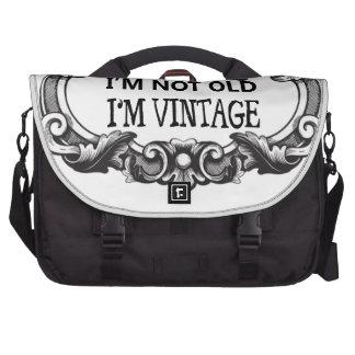 je ne suis pas vieux je suis vintage sacoches ordinateurs portables