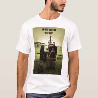 Je ne suis pas vieux, je suis vintage ! t-shirt