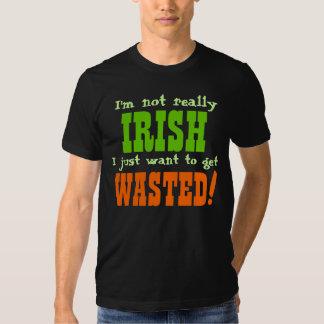 Je ne suis pas vraiment irlandais je veux juste t-shirt