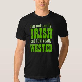 Je ne suis pas vraiment irlandais mais je suis t-shirt