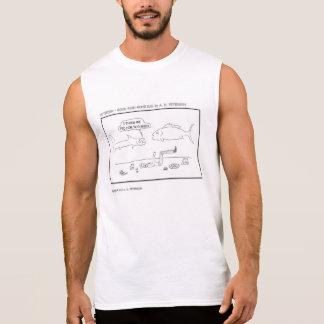 Je nous pense Fed il trop T-shirt Sans Manches