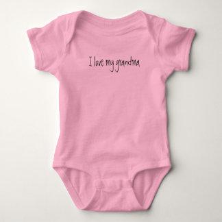 """""""Je nouveau vêtement une pièce de bébé aime ma Body"""