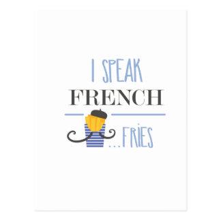 Je parle français… Fritures Carte Postale