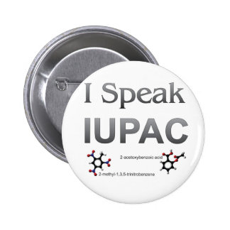 Je parle la nomenclature de chimie d'IUPAC