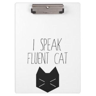 Je parle le chat fluide - citation drôle