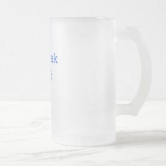 Je parle le geek tasse à café