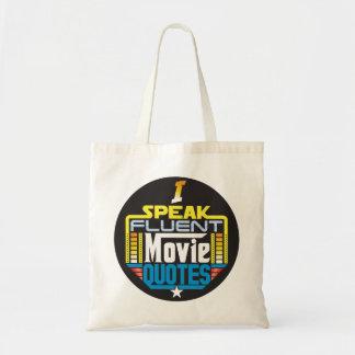 Je parle le sac fluide de citations de film