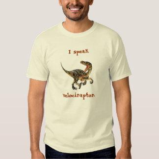 Je parle le Velociraptor T-shirts