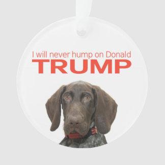 Je pas jamais bosse sur Donald Trump !