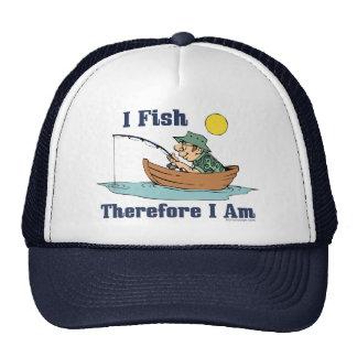 Je pêche, par conséquent je suis casquette