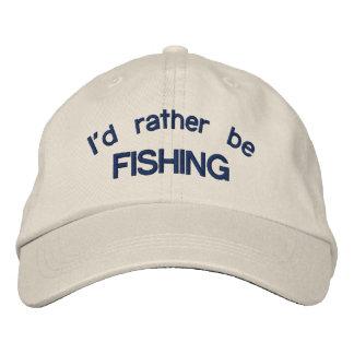 Je pêcherais plutôt le casquette réglable