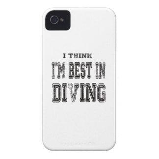 Je pense que je suis le meilleur dans la plongée étuis iPhone 4