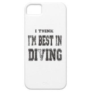 Je pense que je suis le meilleur dans la plongée coque iPhone 5