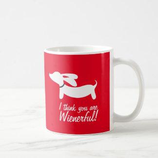 Je pense que vous êtes tasse de café wienerful de