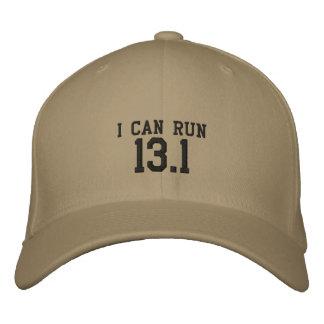 Je peux courir 13,1 -- Pouvez-vous ? Casquette Brodée