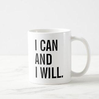 Je peux et je vais le faire mug