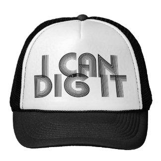 Je peux le creuser casquettes