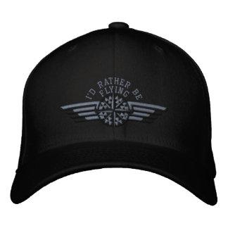 Je piloterais plutôt des ailes de pilote de casquette brodée