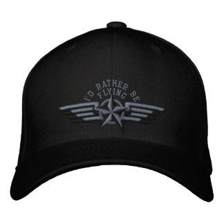 Je piloterais plutôt des ailes de pilote d'insigne casquette brodée