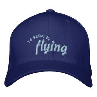 Je piloterais plutôt le casquette pilote casquette brodée