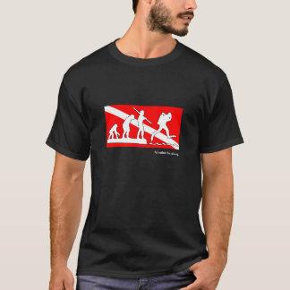 Je plongerais plutôt, T-shirt d'évolution de