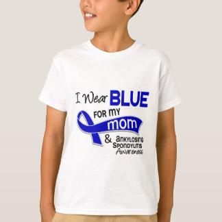 Je porte le bleu pour ma spondylarthrite t-shirt