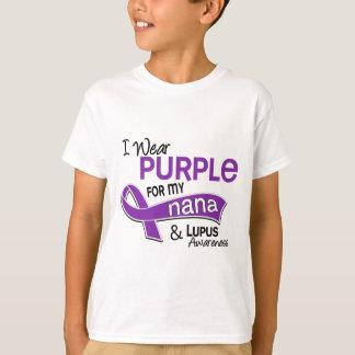 Je porte le pourpre pour ma Nana 42 lupus T-shirt