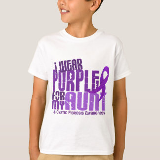 Je porte le pourpre pour ma tante 6,4 t-shirt
