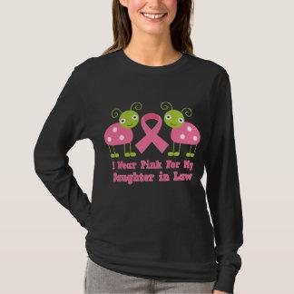 Je porte le rose pour ma belle-fille t-shirt